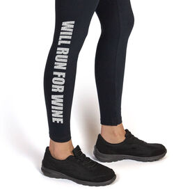 Runner's Leggings Will Run For Wine