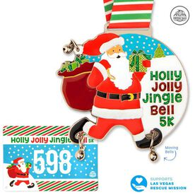Virtual Race - Holly Jolly Jingle Bell 5K