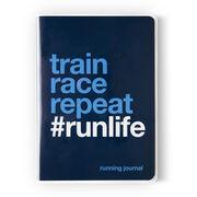 GoneForaRun Running Journal - Train Race Repeat