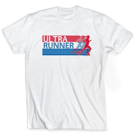 Running Short Sleeve T-Shirt - Ultra Runner U.S.A.
