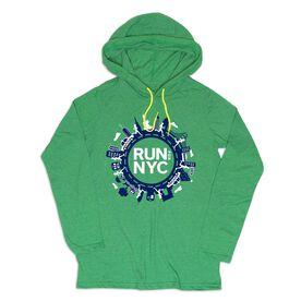 Women's Running Lightweight Hoodie - Run For NYC