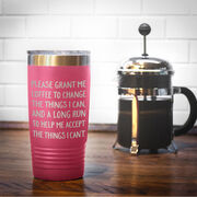 Running 20oz. Double Insulated Tumbler - Please Grant Me Coffee