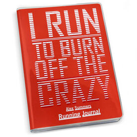 GoneForaRun Running Journal I Run To Burn Off The Crazy