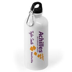 20 oz. Stainless Steel Water Bottle - Achilles International-Nashville Logo
