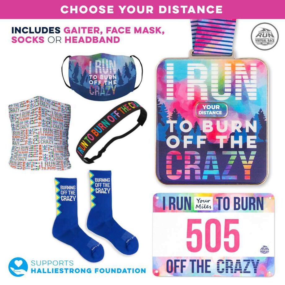 Virtual Race - I Run to Burn Off the Crazy