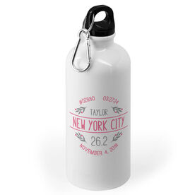 Running 20 oz. Stainless Steel Water Bottle - Custom Race