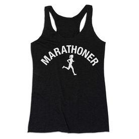Women's Everyday Tank Top - Marathoner Girl