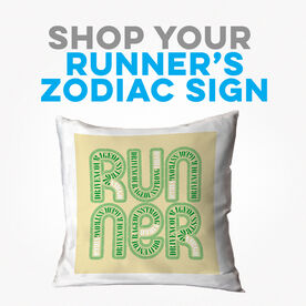 Click to Shop all Running Zodiac Decorative Pillows