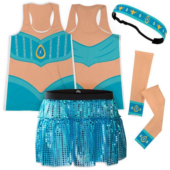 Arabian Princess Running Outfit