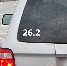 26.2 Vinyl RUNNERDecal