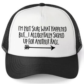 Running Trucker Hat - Signed Up For Another Race