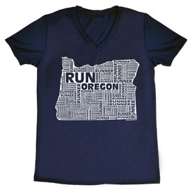Women's Running Short Sleeve Tech Tee Oregon State Runner