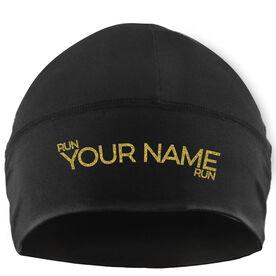 Run Technology Beanie Performance Hat - Run Your Name Run