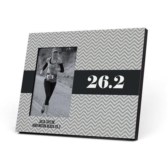 Running Photo Frame - Chevron 26.2