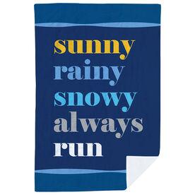 Running Premium Blanket - Whether Mantra