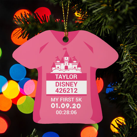 Running Ornament - Magical Miles Shirt