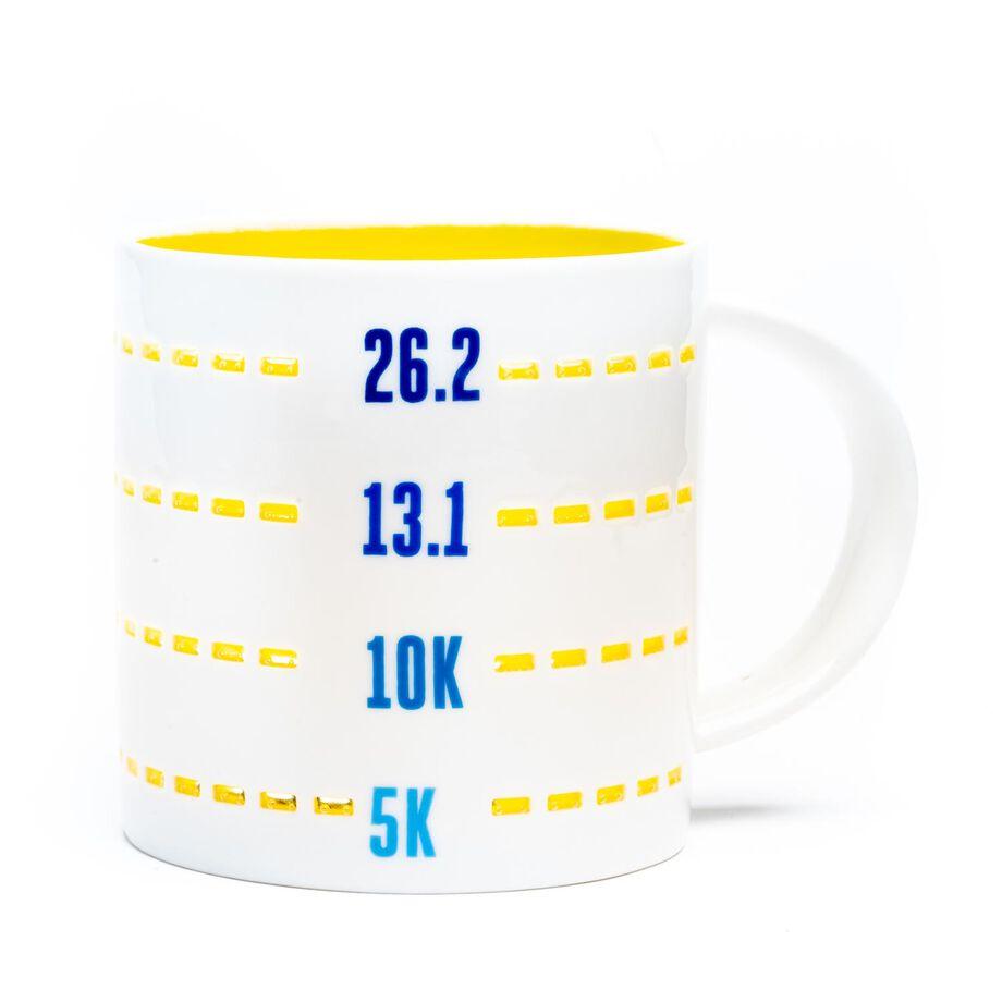Soleil Home™ Running Porcelain Mug - Distance Challenges