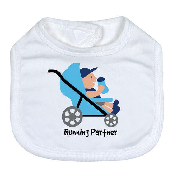 Running Baby Bib - Running Partner