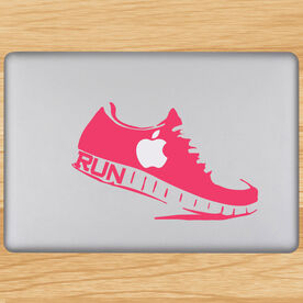 Runner Shoe Removable GoneForaRunGraphix Laptop Decal