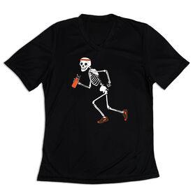Women's Short Sleeve Tech Tee - Never Stop Running
