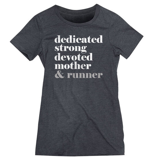 Women's Everyday Runners Tee - Run Mantra Mother Runner