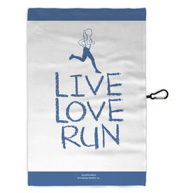 Running Workout/Golf Towel Live Love Run