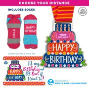 Virtual Race – Happy Birthday Challenge Custom Distance