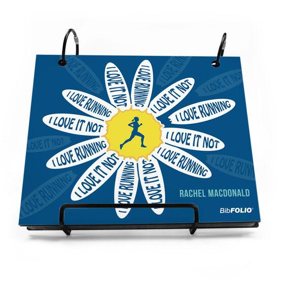 BibFOLIO® Race Bib Album - I Love Running, I Love It Not