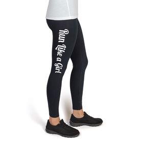 Runner's High Print Leggings Run Like A Girl