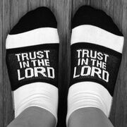 Socrates® Woven Performance Sock - Trust in the Lord
