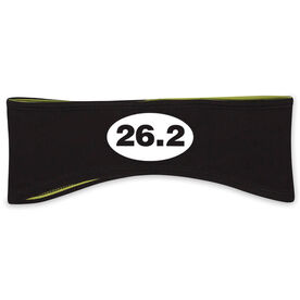 Running Reversible Performance Headband 26.2 Euro Style
