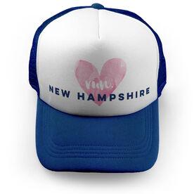 Running Trucker Hat Run New Hampshire