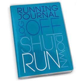 GoneForaRun Running Journal - Log Off Shut Down (Stacked)