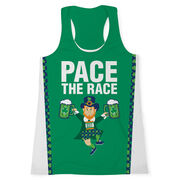 Women's Performance Tank Top - Pace The Race