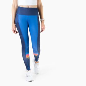 Women's Performance Side Pocket Tights - Territory