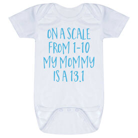 Running Baby One-Piece - My Mommy Is A 13.1