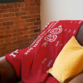 Cross Country Premium Blanket - Thanks Coach (Horizontal)