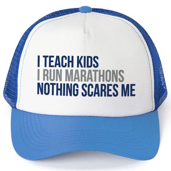 Running Trucker Hat - Nothing Scares Me