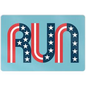 "Running 18"" X 12"" Wall Art - Run Stars and Stripes"