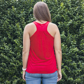 Flowy Racerback Tank Top - Run & Be Happy