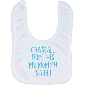 Running Baby Bib - My Mommy Is A 13.1