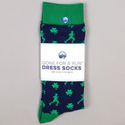 Men's Running Dress Socks - Lucky Run