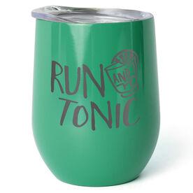 Running Stainless Wine Tumbler - Run and Tonic