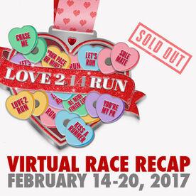 Virtual Race - Love 2 Run Virtual 2.14 Miles Race (2017)