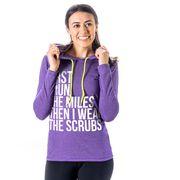 Women's Running Lightweight Hoodie - Then I Wear The Scrubs