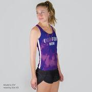 Women's Performance Tank Top - Custom I Run For Tie-Dye