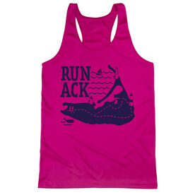 Women's Racerback Performance Tank Top - Run ACK