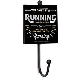 Running Medal Hook - You Don't Stop Running