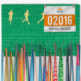 Hooked On Medals Bib & Medal Display Inspiration Male