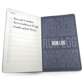 GoneForaRun Running Journal - Mantra Mother Runner